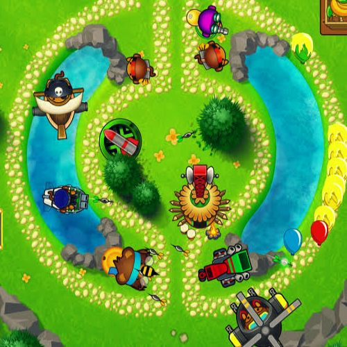 Bloons Tower Defense 4 Game